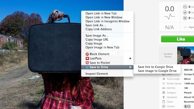 Save to Drive Instantly Sends Images, Audio, and Video to Google Drive