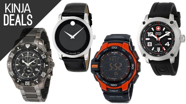 Save 20% on a Huge Variety of Watches Today on Amazon