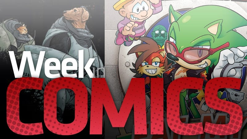 Scourge The Hedgehog, We 3, and I Think They Killed Lois Lane in this Week's Most Interesting Comics