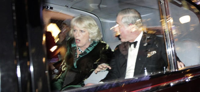 Students Attack Prince Charles' Car After Fee Hike