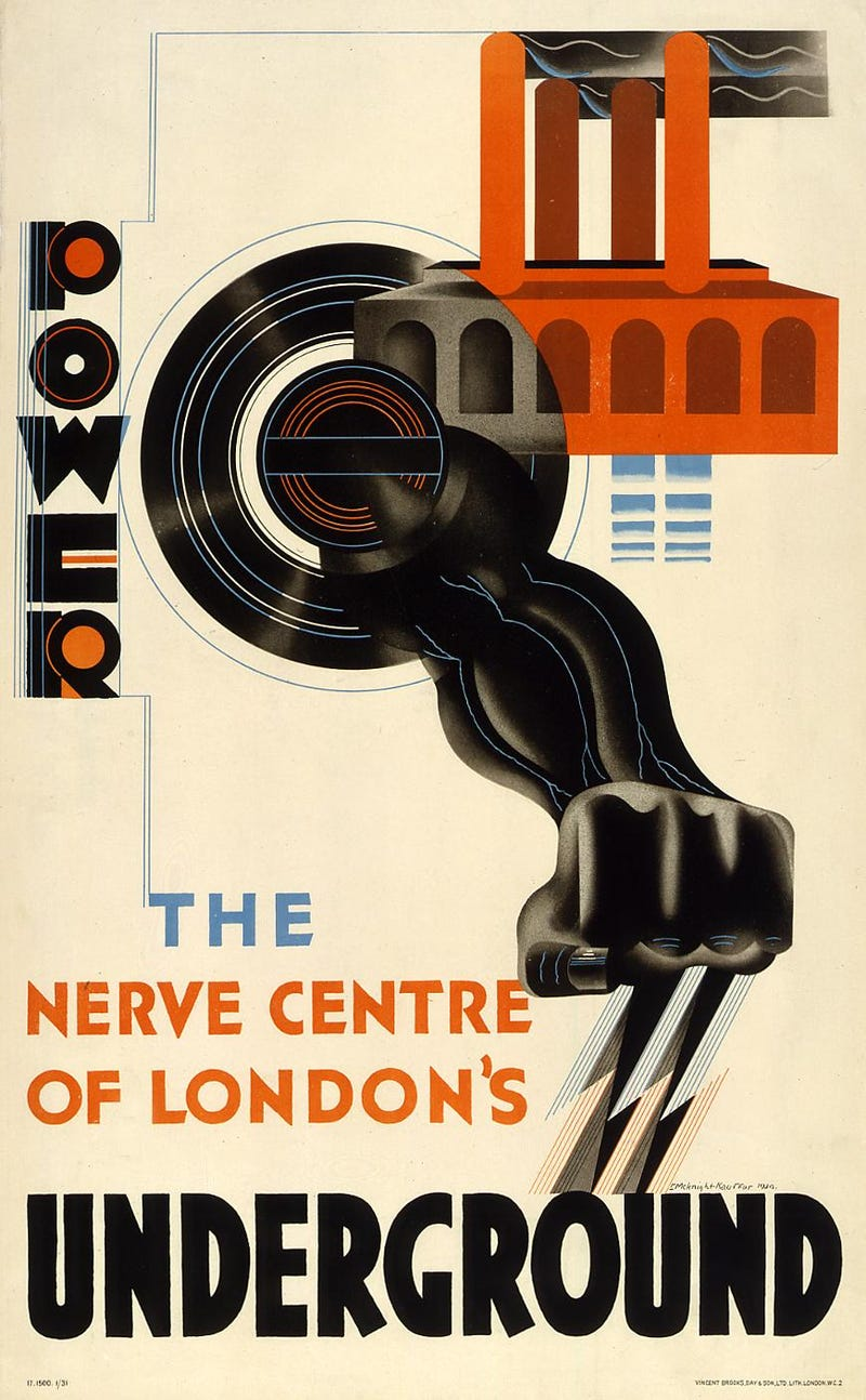 9 Classic Posters From the London Tube's 150 Year History