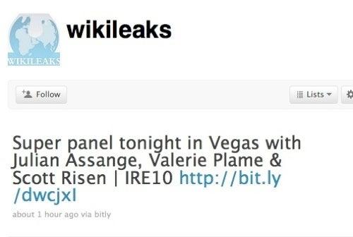 Pentagon 'Hunting' Wikileaks Founder?