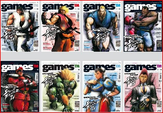 The Many Street Fighter Covers of Games TM