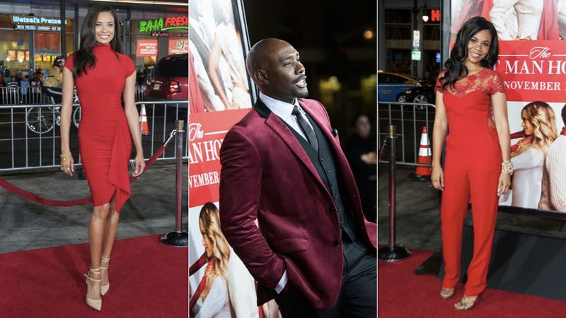 Christmas-Ready Fashion at the Premiere of The Best Man Holiday