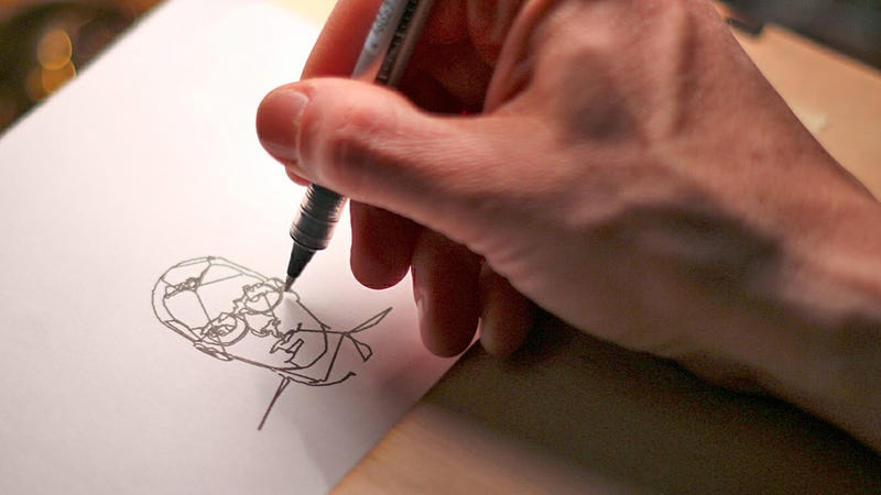 Self-Portrait Drawing Machine Lets the Hopelessly Unartistic Sketch Themselves