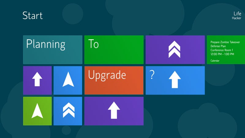 Are You Planning to Upgrade to Windows 8?