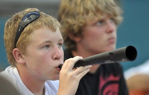 Vuvuzela Infiltrates America's Pastime