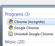 Use an Incognito Browser to Avoid Web Distractions