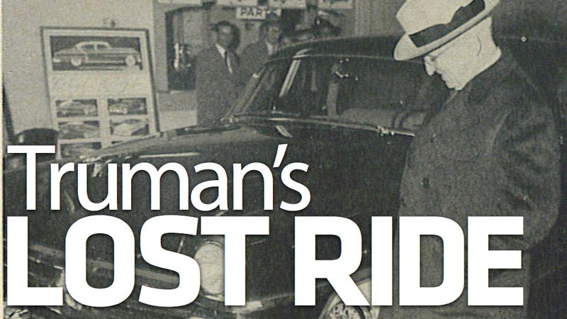 The secret of Harry Truman's lost 1953 Chrysler