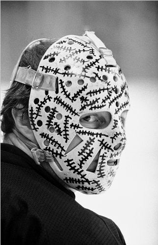 Eddie Belfour's Mask Denies Responsibility For Hell Freezes Over