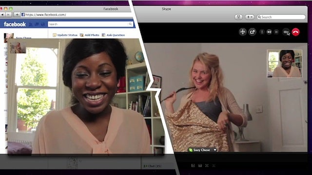 Skype Adds Facebook Video Chat