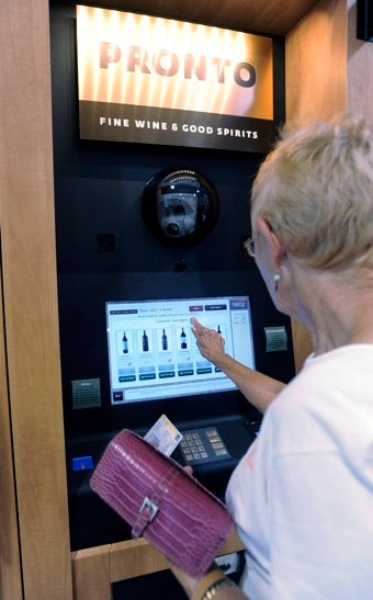 Wine Vending Machines Come To P.A. Grocery Stores