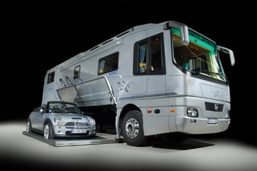 Volkner Mobil Car-Carrying Motor Home Could Be Yours For $1.2 Million