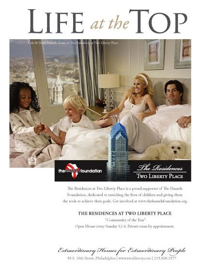 Cole Hamels Has Finally Acquired The Multiracial Children Necessary To Recreate His Luxury Condo Ad