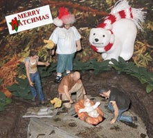 Lost Nativity Scene