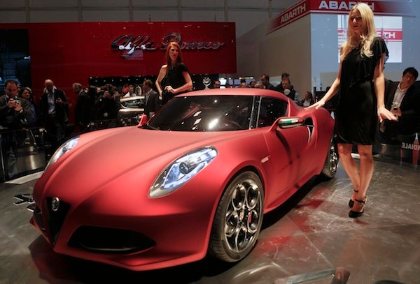 Yes, the Alfa Romeo 4C is still coming to America
