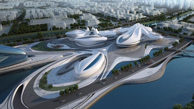 These Otherworldly Theaters Will Showcase Chinese Arts and Culture