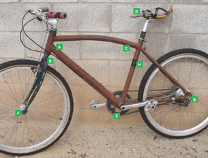 Ugly Your Bike to Deter Thieves