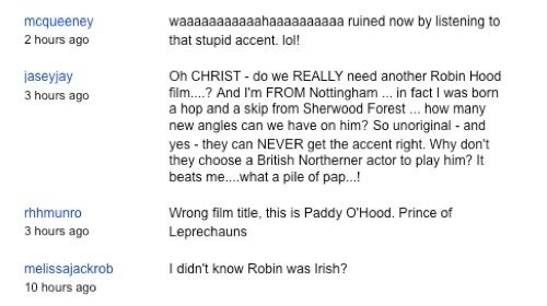 Why Did Russell Crowe Give Robin Hood an Irish accent?