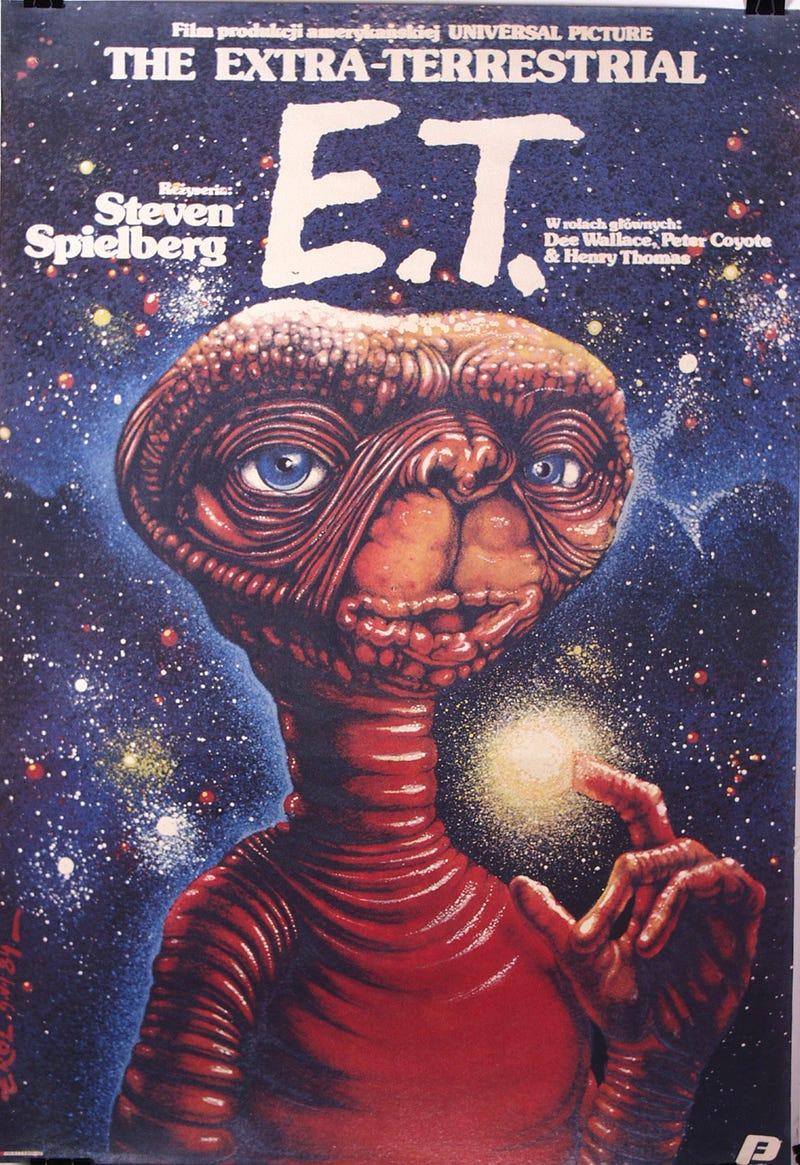 Stoned Polish E.T. and twenty more insane old European movie posters