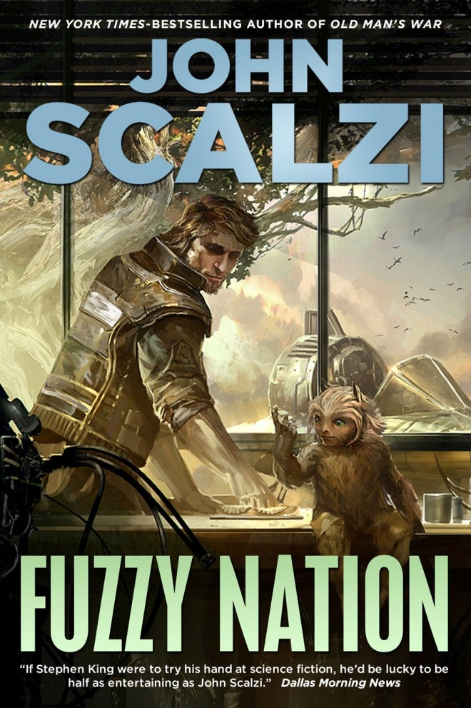 Read an exclusive excerpt from John Scalzi's new novel Fuzzy Nation!