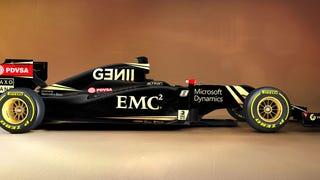 This Is The 2015 Lotus F1 Car In Black Goooooold