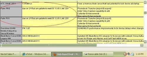 Sprint Pre and Pixi Getting WebOS 1.4 (Video Recording!) on Feb 15?