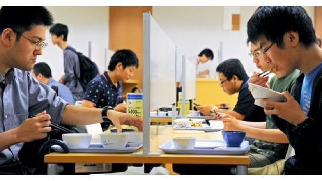 Japanese University Makes Special Forever Alone Dining