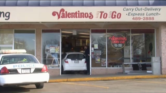 Nebraska Man Crashes Car Into Pizza Shop, Asks If He Can Still Place an Order