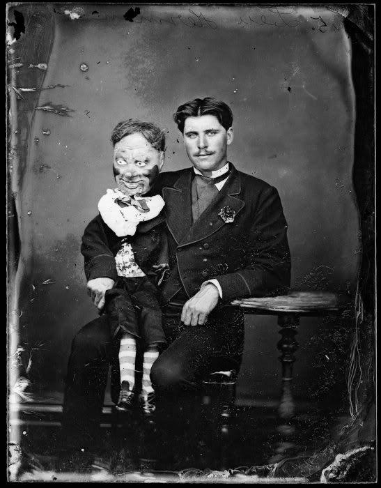 Evil Ventriloquist Dummy Gallery