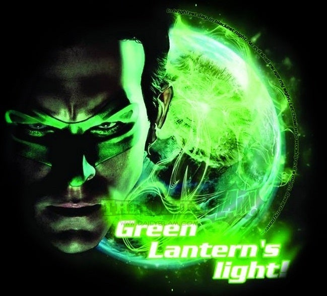 New Green Lantern movie image could be our first look at the sentient planet, Mogo