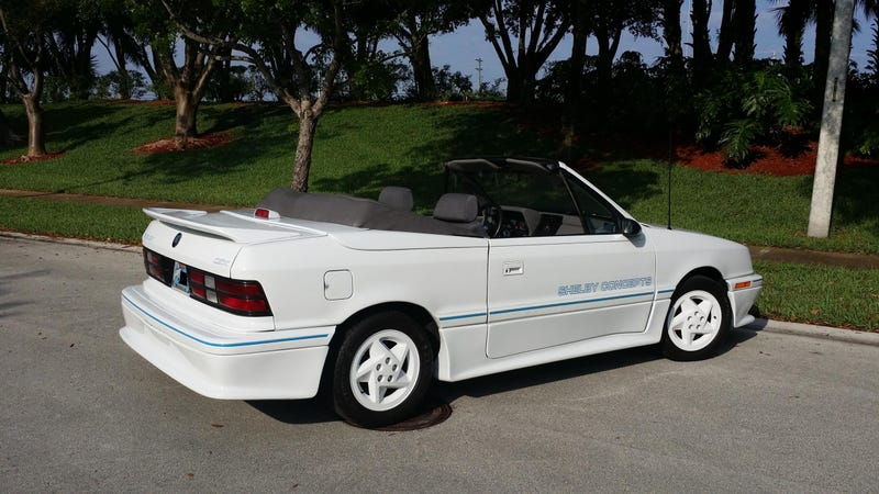 "Could A ""1991 Dodge Shelby CSX Convertible"" Pull $11,500?"