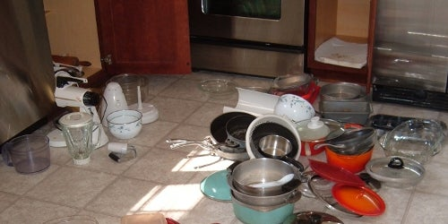 Diary of a No-Nonsense Kitchen Clean-Out