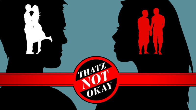 Thatz Not Okay: Asking a Boyfriend if He's Gay; The Fabric of Strife