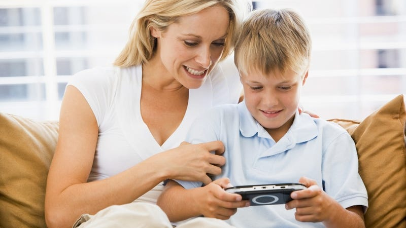 Guy Teams Up With His Mother To Defend Video Games