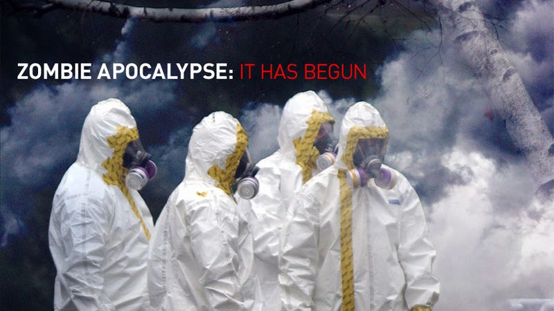 Grab Your Boomstick: The Zombie Apocalypse May Actually Be Upon Us