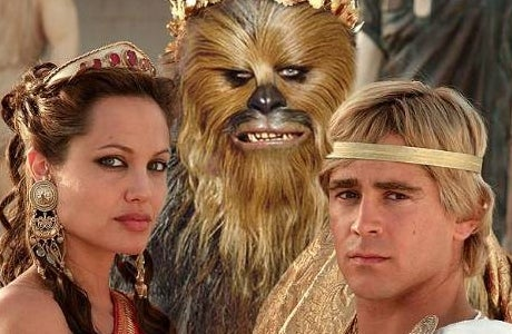 Chewbacca Looks Better Than Colin Farrell