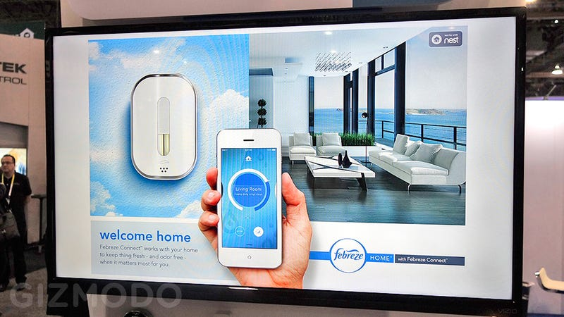 A Smart Home Connected Febreze Dispenser Makes Me Appreciate My Dumb Home