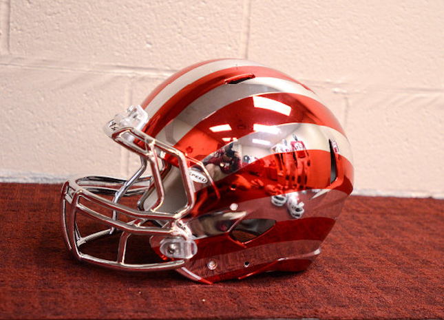 Indiana Is Going To Wear This Helmet Because Fuck You That's Why