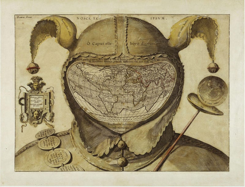 A Collection of Very Strange Maps