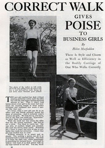Walk With Poise And Creepy Attention Could Be Yours!