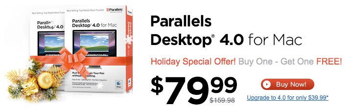 Dealzmodo: Buy Parallels, Get Parallels Free
