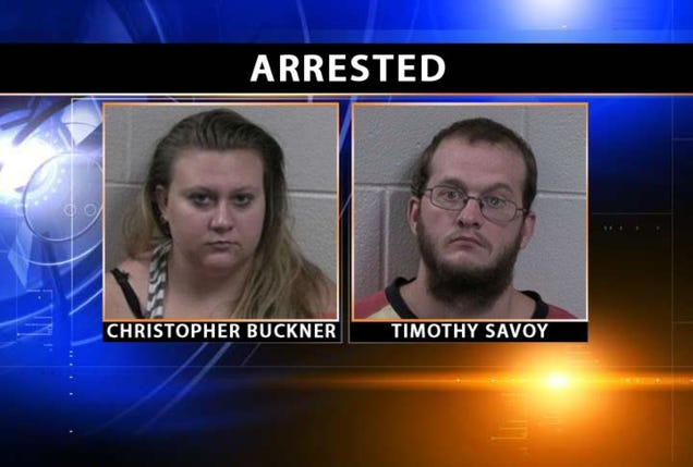 Brother and Sister Arrested for Fucking in Church Parking Lot