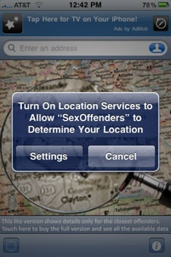The Scariest Location-Based iPhone App Ever?