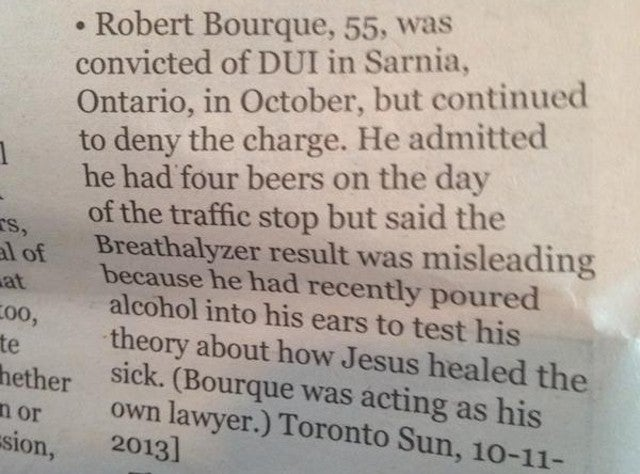 This Is The Best Excuse For Failing A Breathalyzer Test