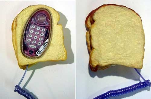 Sandwich Phone is Great in a Detached, Ironic Sort of Way