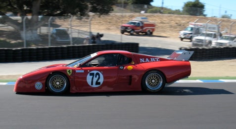 Ferrari 512 BB LMs at Monterey