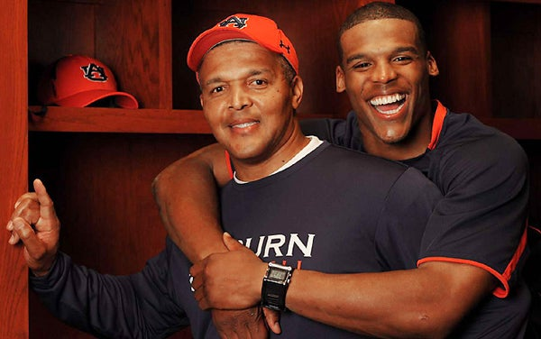 Despite Snub, Cam Newton Still Loves His Dad