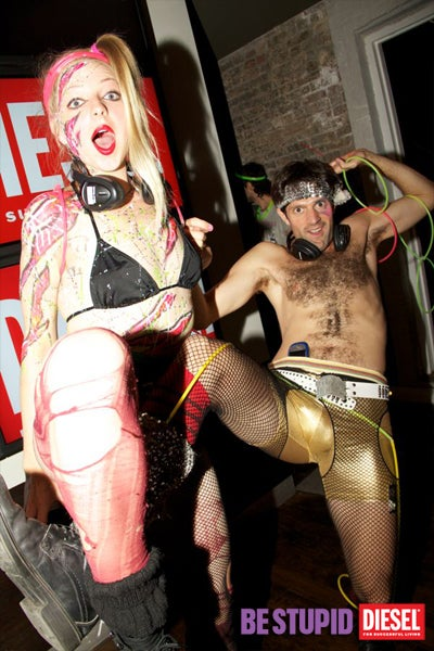Half-Naked Ravers Served Drinks By Glow-in-the-Dark Robot at Gawker HQ