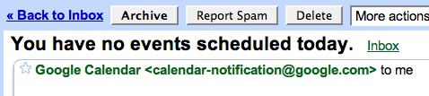 Only get GCal agendas when there are events?